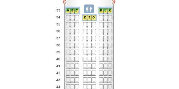 "Example of a three-row config on a UA 777-200. ({a href=""http://www.seatguru.com/airlines/United_Airlines/United_Airlines_Boeing_777-200_3_New.php"" target=""_blank"">}SeatGuru{/a})"