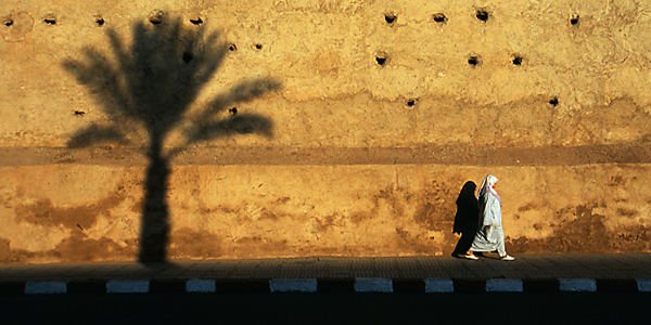 The city wall of Marrakesh. (Dave / Flickr)