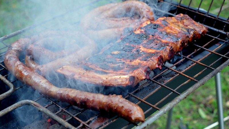 """Nice to know """"barbecue"""" is practically universal. (Alan Levin / Flickr)"""